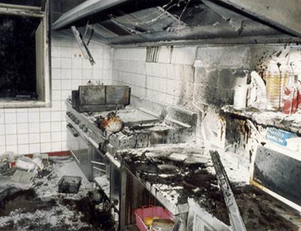 Reinigung brandschutzreinigung küchenabluftsysteme fettbelastung